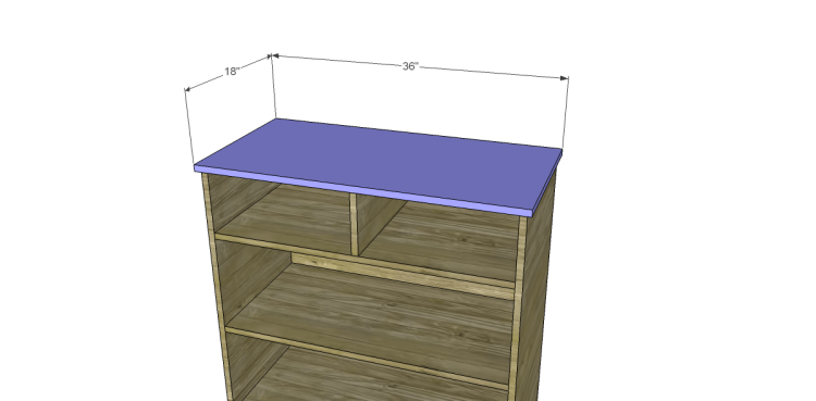Free Plans to Build a Pier One Inspired Ashworth 5-Drawer Dresser_Top