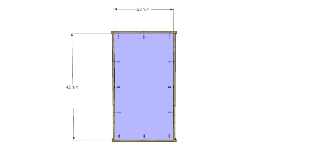 Free Plans to Build a Beadboard Drying Rack Med. Back