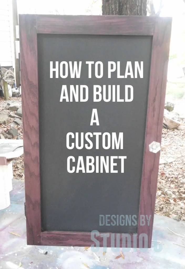 How to Plan and Build a Custom Cabinet Part 2 SANY1548