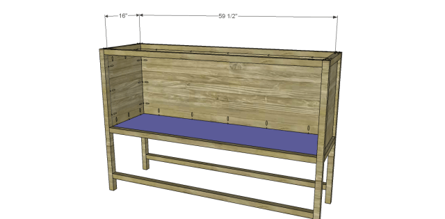 Free Plans to Build a Joss Main Inspired Farmhouse Sideboard 5