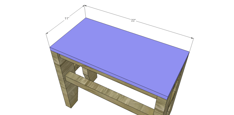 free plans build napa style inspired fair square benches_Seat