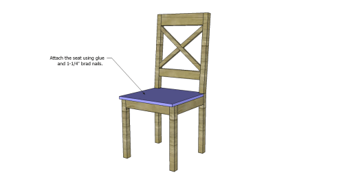 Free Plans to Build a Dining Chair 2_Seat 2