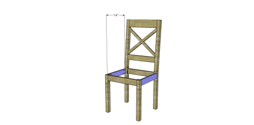 Free Plans to Build a Dining Chair 2_Stretchers