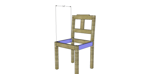 Free Plans to Build a Dining Chair 3_Stretchers
