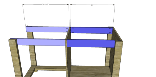 Free Plans to Build a New American Barnwood Kitchen Island_Top Aprons