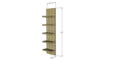 Free Plans to Build a Viva Terra Inspired Elmwood Modular Shelving
