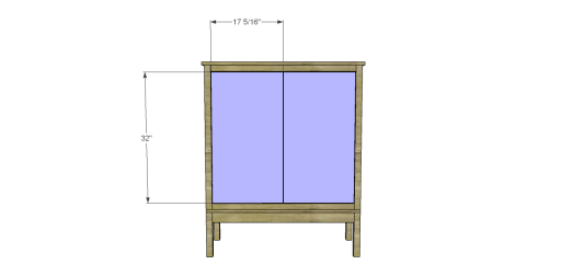 Free Plans to Build a Viva Terra Inspired Tradewinds Armoire_Doors