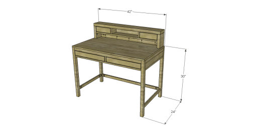 Joss & Main Inspired Carole Desk