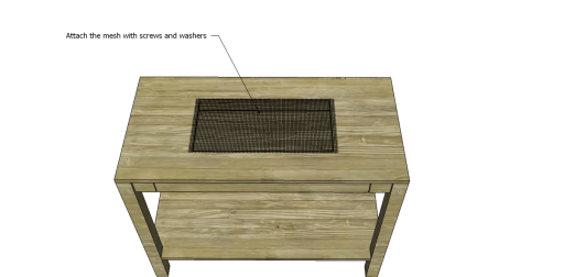 Free Plans to Build a Napa Style Inspired European Garden Table_Mesh