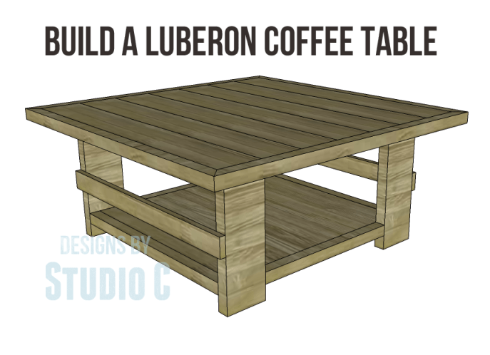 free plans to build a joss main inspired hammary luberon coffee table_Copy