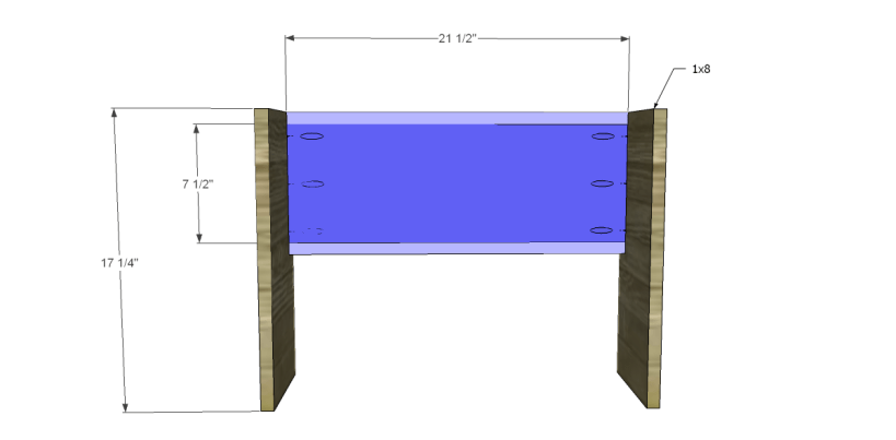 free plans to build a world market inspired ross coffee table _Sides