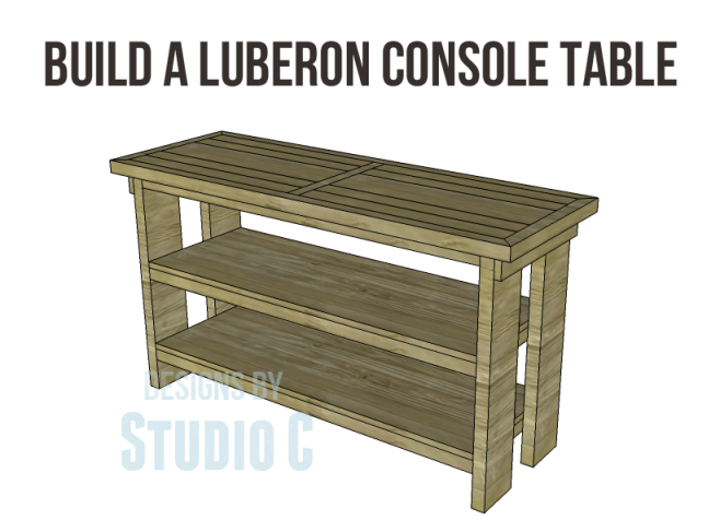 free plans to build a Hammary inspired Luberon console table_Copy