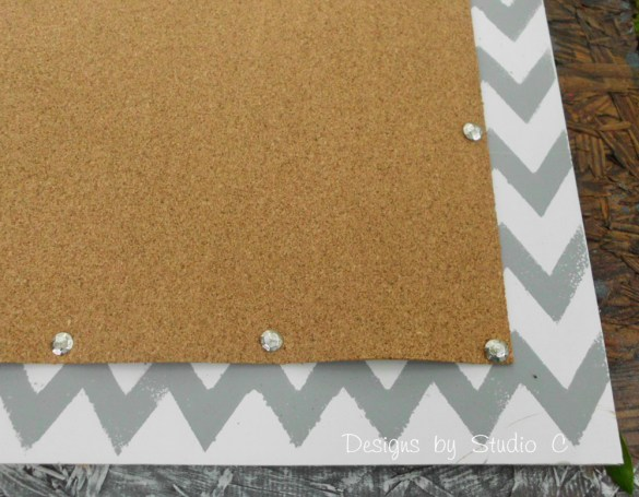 How to Make a Cork Board out of an Old Screen Door SANY2134