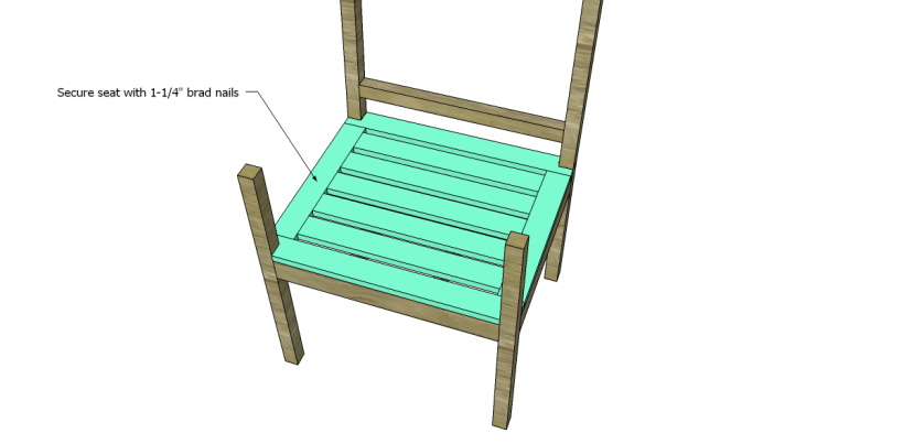 free plans to build a curvy armchair_Seat 2