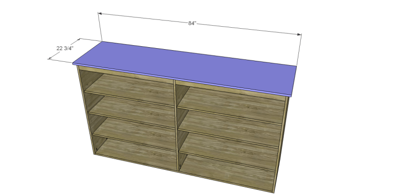 free plans to build daves two piece armoire_Top