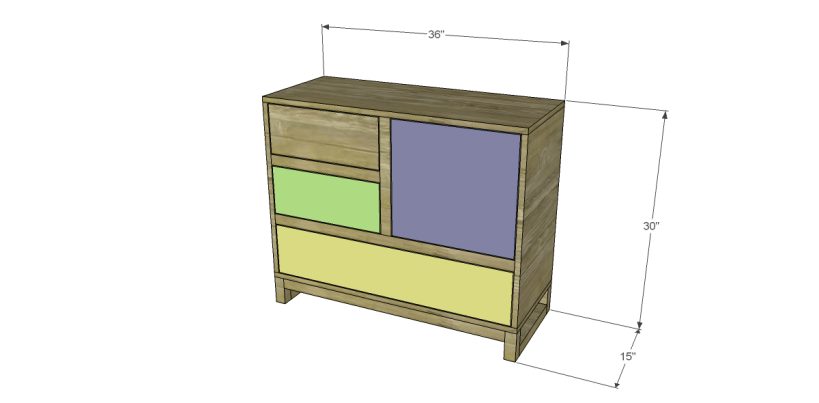 free plans to build a joss main inspired greene chest