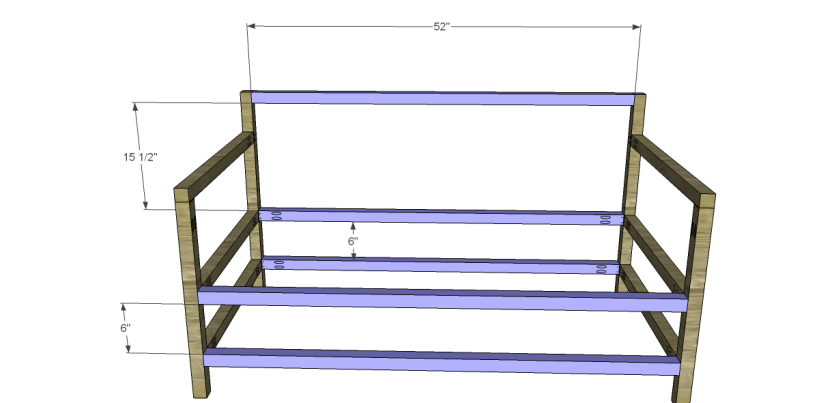 free plans to build a world market inspired raya daybed_Stretchers