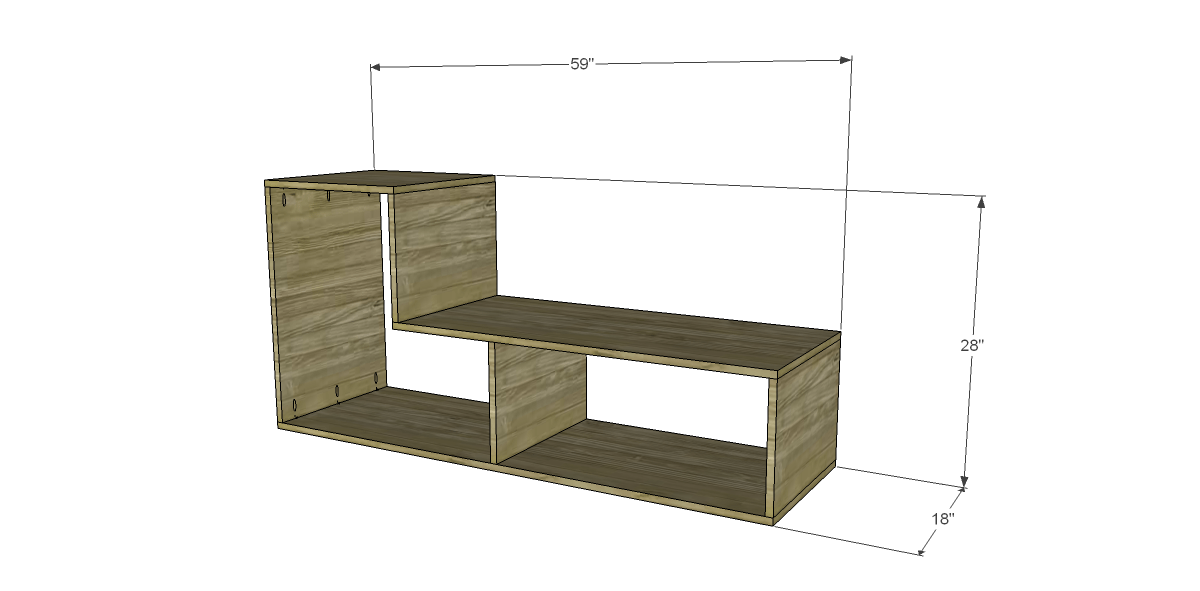 Free DIY Woodworking Plans to Build a Flexi Bookcase_2
