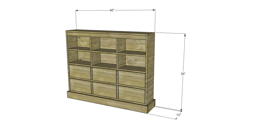 free DIY woodworking plans to build a Nantucket Chest