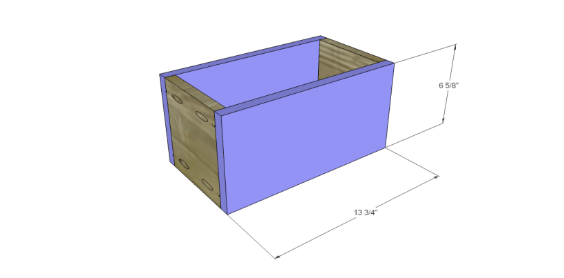 free DIY woodworking plans to build a Nantucket Chest_Drawer FB