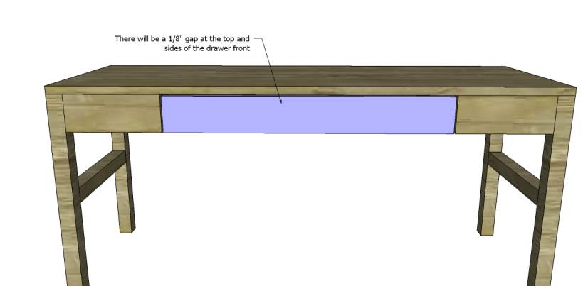free plans to build a tura coffee table_Drawer Front