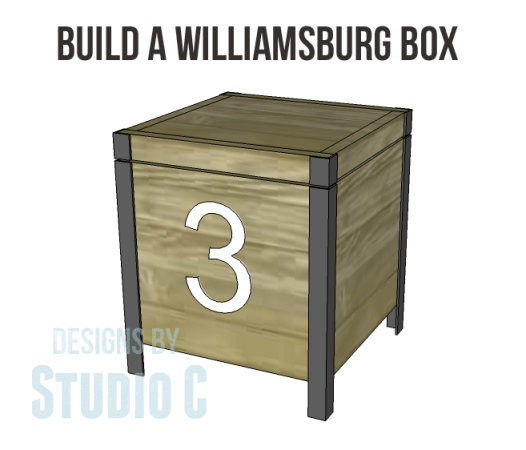 free plans to build a Williamsburg box_Copy