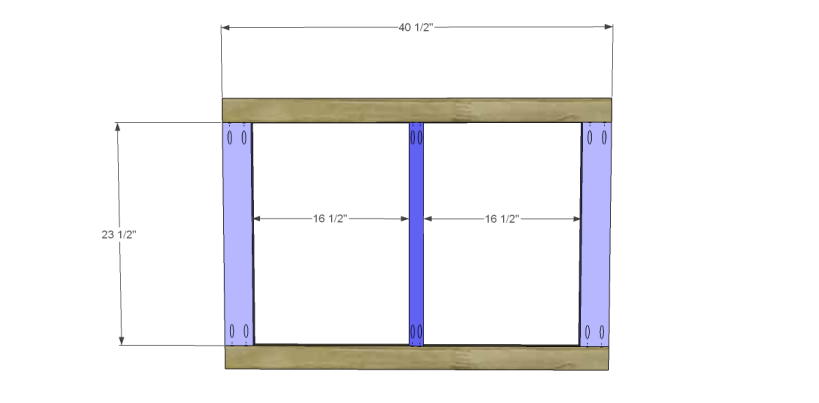 free DIY woodworking plans to build a two door sideboard_Frame 1