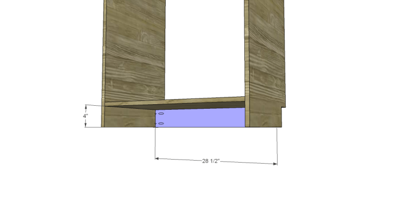 free DIY woodworking plans to build a custom bath vanity_Kickplate