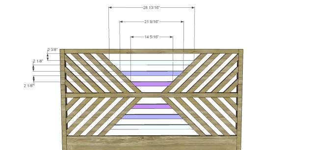 diy bed plans - diagonal QBed_Headboard 4