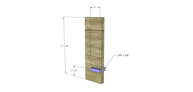 modern chunky coffee table_Legs