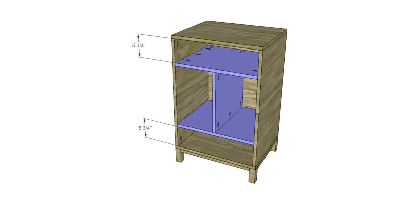 diy vintage table plans_Shelf 2