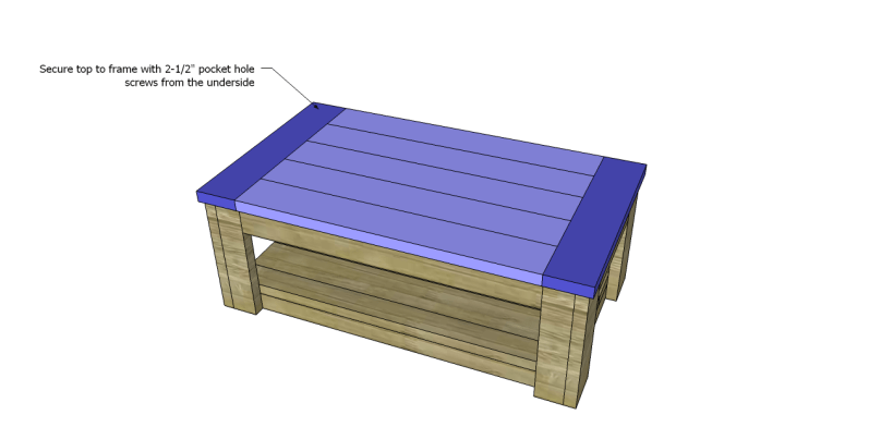 coffee table plans sam_Top 2