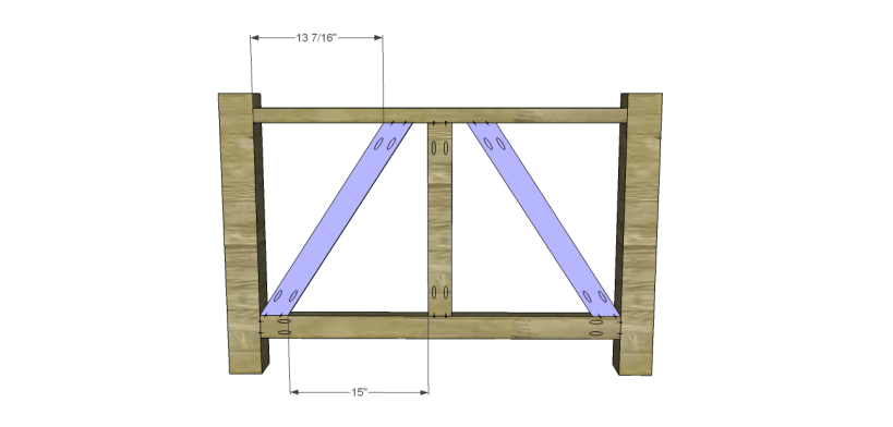 castleton dining table plans_Truss 2
