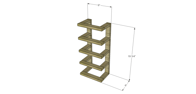 free furniture plans build wood towel rack