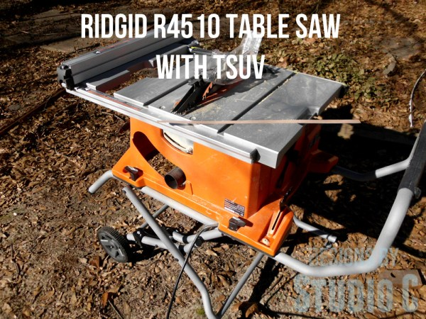 ridgid r4510 table saw with stand SANY2938
