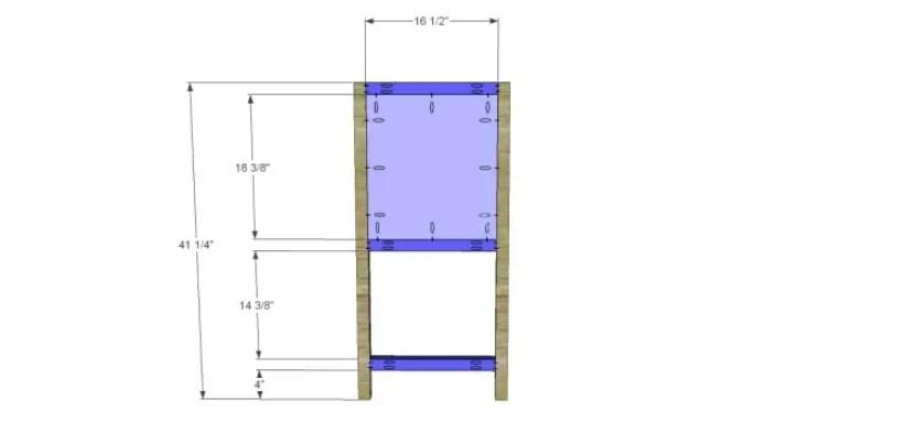 free furniture plans build sundown retreat sideboard_Sides