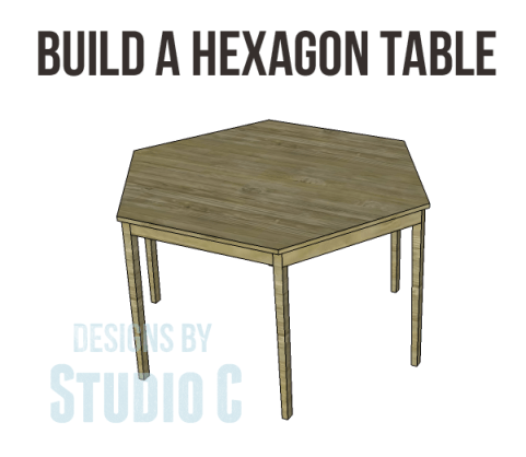 free furniture plans build hexagon dining table_Copy