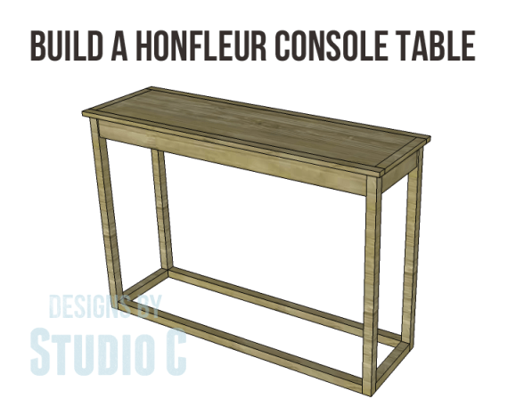 honfleur console table plans _Copy