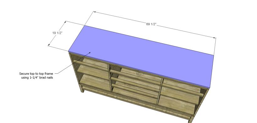 plans build esmerelda buffet-Top