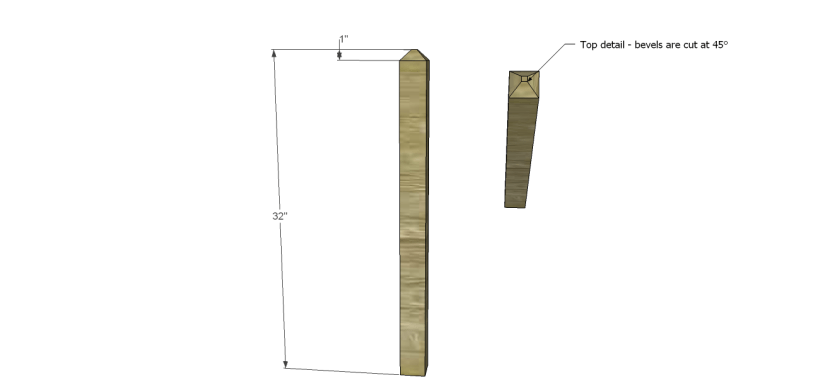 alicia planter box plans-Legs