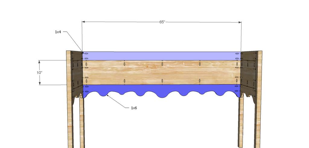 Homestyle sideboard plans-Back
