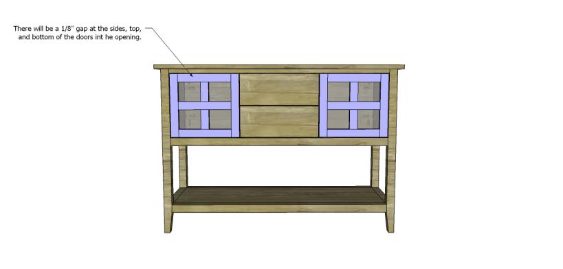 ronen sideboard plans-Doors 3