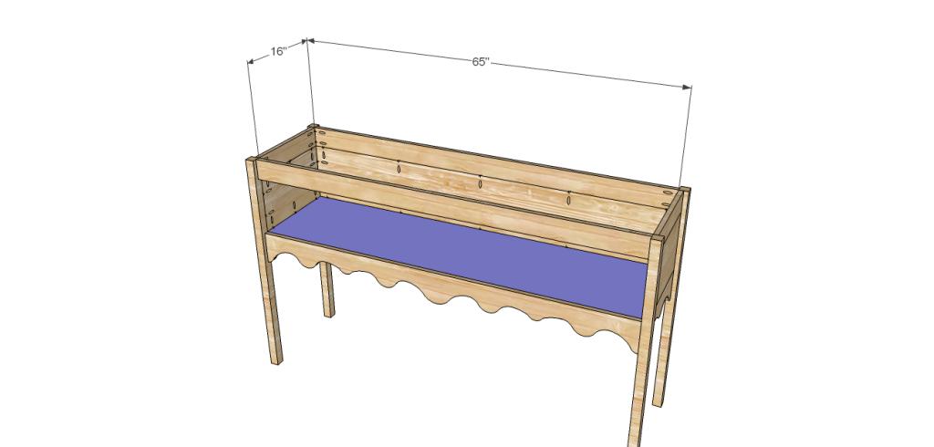 Homestyle sideboard plans-Shelf