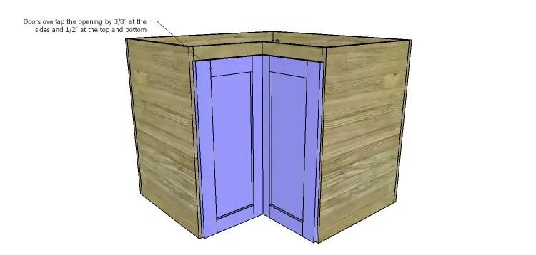 corner kitchen cabinet plans ana white wall kitchen corner cabinet diy projects