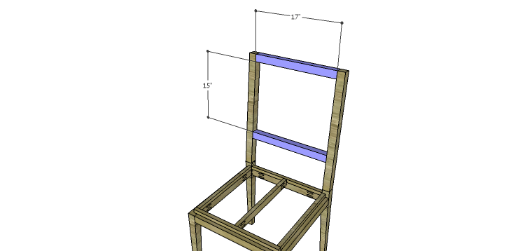 Luna Dining Chair Plans-Back Frame