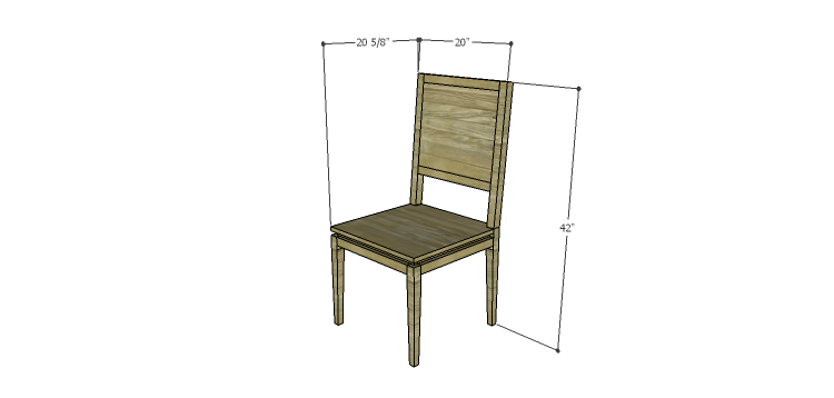 Luna Dining Chair Plans