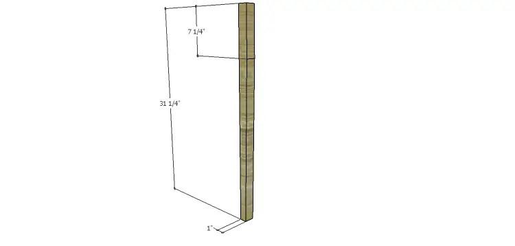 Miriam Console Table Plans-Legs