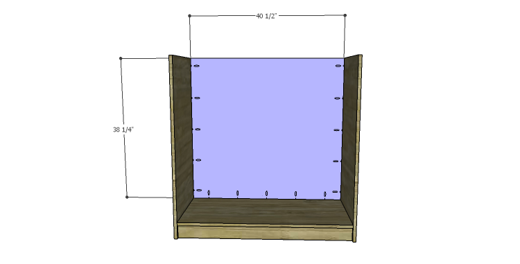 DIY Plans to Build a Howell Bar Cabinet_Back