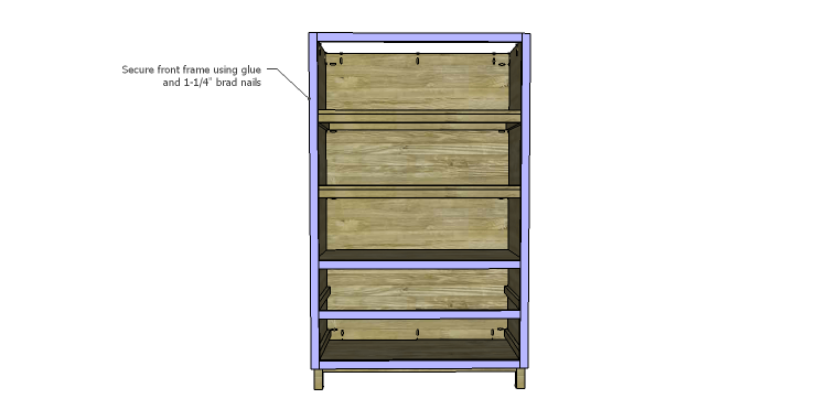DIY Plans to Build a Starling Armoire_Front Frame 2
