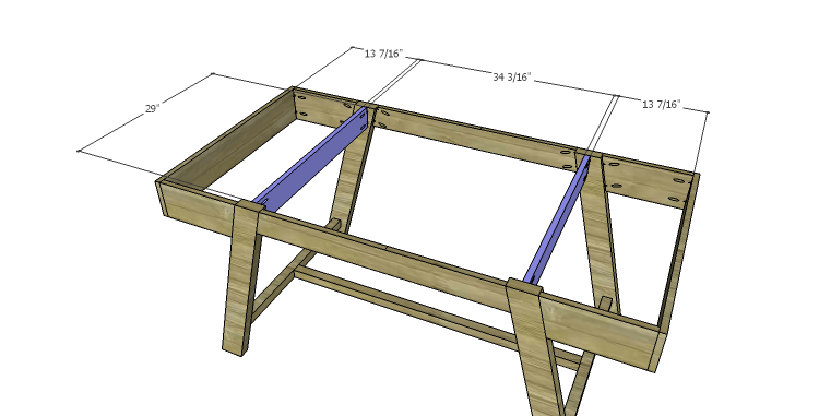 DIY Plans to Build a Wyatt Writing Desk_Top Supports